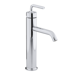 Purist Tall Basin Mixer Polished Chrome