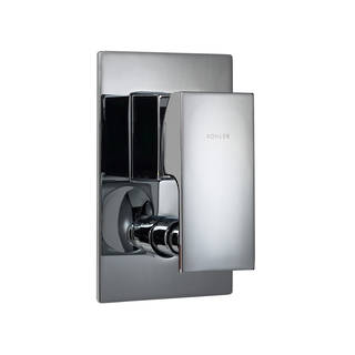 Strayt Bath and Shower Mixer with Diverter - Slim Trim