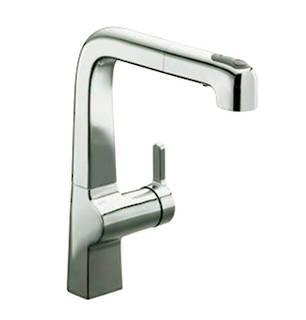 Evoke Single-Control Pullout Kitchen Faucet