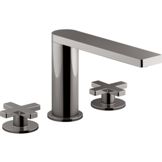 Composed 3TH Bath Set-Cross Handle Titanium Spare Parts