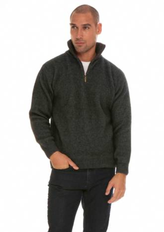 KO225 Zip Collar Jumper