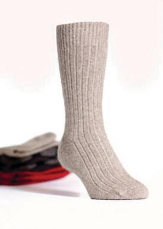 KO71 Ribbed socks