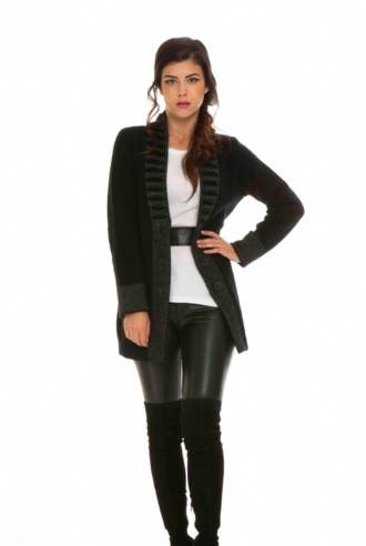 KO745 Feature collar jacket