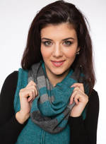 KO1016 colour block scarf
