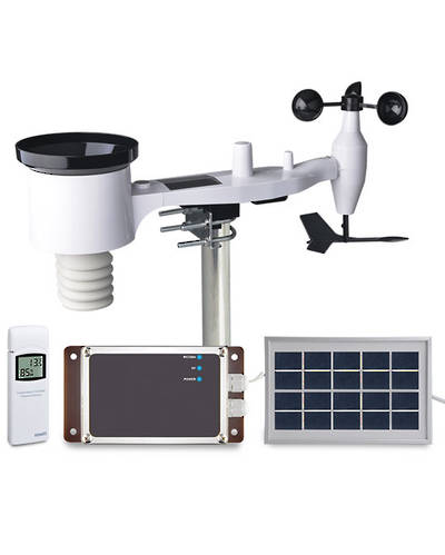 3G 4G WCDMA Network Automatic Meteorological Station with Remote Monitoring