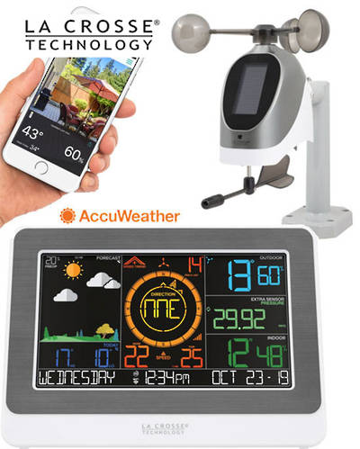 C79790 La Crosse Professional WIFI Wireless Weather Station