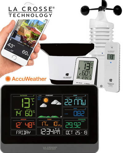 C83100 COMPLETE PERSONAL WIFI WEATHER STATION ACCUWEATHER