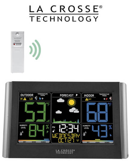 C85845V3-INT Wireless Color Weather Station