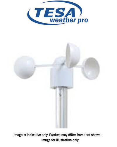 TX81W TESA Wind Anemomter Cups for WS1081V1, WH1081