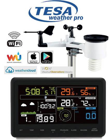 WS2980C-PRO TESA Professional WIFI Colour Weather Station