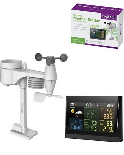 XC0434 DIGITECH Wireless Digital Colour Weather Station