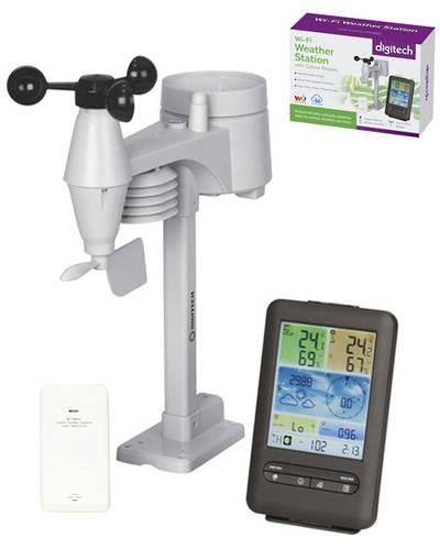 XC0436 DIGITECH WIFI Digital Colour Weather Station
