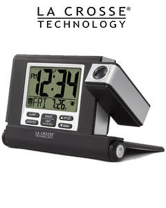 616-1908 Travel Projection Alarm Clock