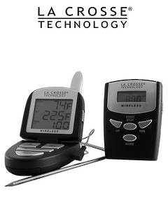 922-818 La Crosse Wireless Kitchen Thermometer Timer