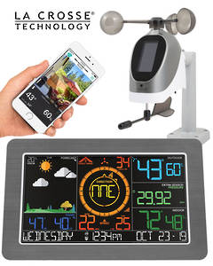 C79790 La Crosse Professional WIFI Wireless Weather Station