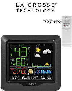 S84107 La Crosse Moon Phase Colour Weather Station