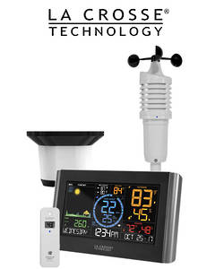 V22-WRTH-INT La Crosse Prof WIFI Colour Weather Station