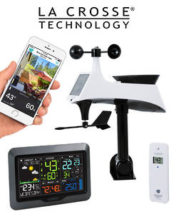 V40A-PRO-INT La Crosse Professional WIFI Wireless Weather Station