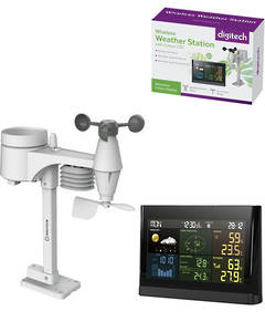XC0434 DIGITECH Wireless Digital Colour Weather Station