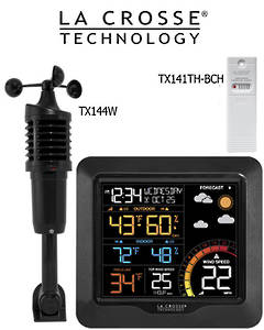 327-1417V2 Professional Colour Wind Speed Weather Station