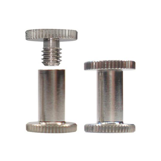 10mm long N P Knurled Interscrew