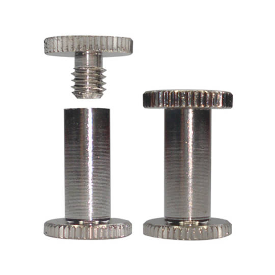 12mm long N P Knurled Interscrew
