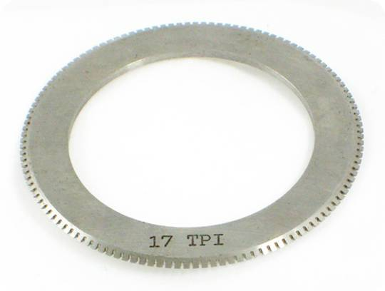 17 TPI Perf Blade for 25mm Shaft