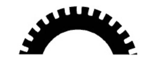 Stahl Perforator 48.0 x 30.0 x 0.5mm 30T