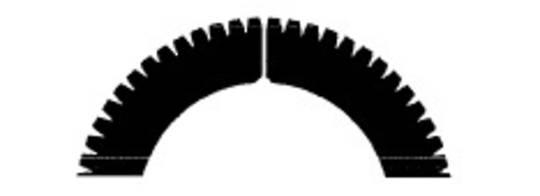 Stahl Perforator 45.5 x 30.0 x 0.5mm 60T
