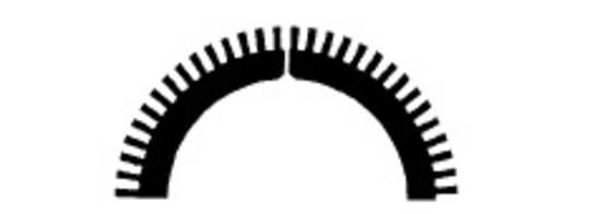 Stahl Perforator 37.5 x 26.0 x 0.5mm 60T
