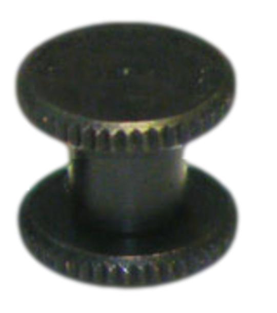 6mm long Black Knurled Interscrew