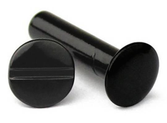 10mm Long Black Dome Interscrew
