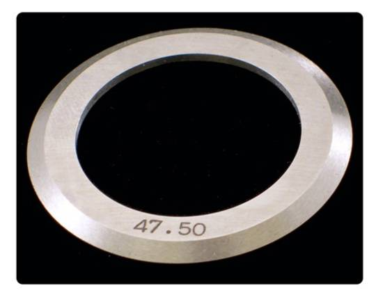 Slitter 47.50mm OD for 25mm Shaft