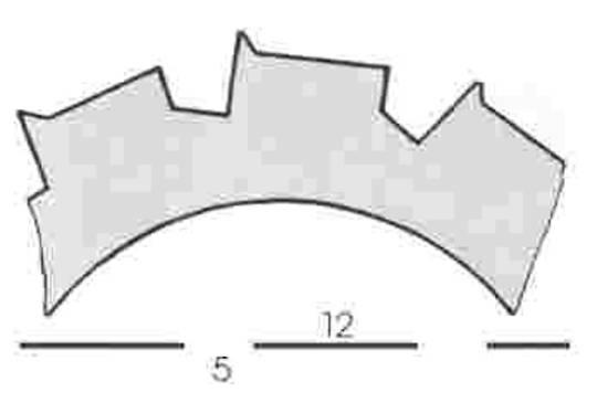 Stahl Burst Perforator 64.0 x 40.0 x 0.9mm 12T