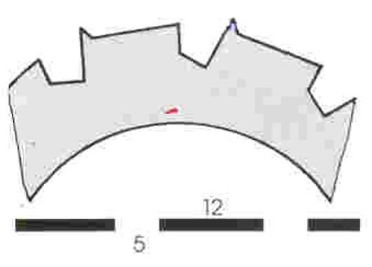 Stahl Burst Perforator 64.0 x 40.0 x 1.2mm 12T
