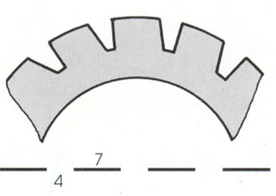 Stahl Perforator 48.0 x 30.0 x 0.5mm 15T