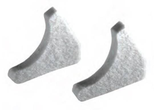 Ink Duct End Block for KOMPAC III Cleaning Seals