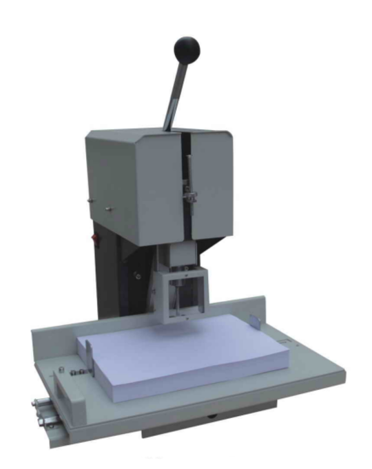 Leach Singe Head Paper Drilling Machine
