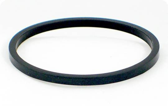 Side Guides (Black Rubber) for 25/30mm