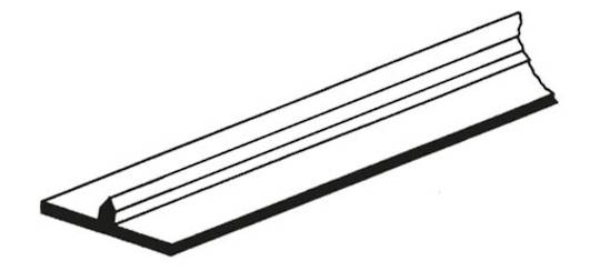 Offset Stick On Slit (For card)