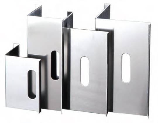 Aluminium Pile Corners 127 x 127mm