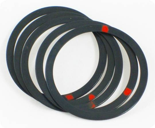 Tri-Creaser Deluxe Insert Red Dot for 25/30mm