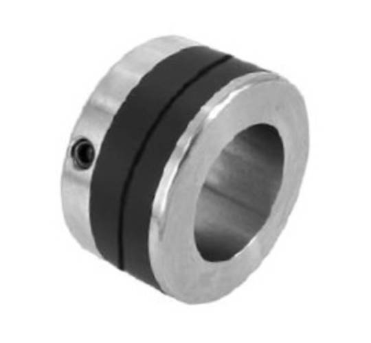 Transport Collar for 35mm Shaft Urethane/Steel with Groove