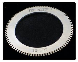 12 TPI Perf Blade for 35mm Shaft