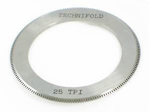 25 TPI Perf Blade for 35mm Shaft