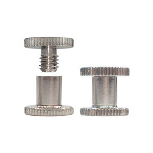6mm long N P Knurled Interscrew