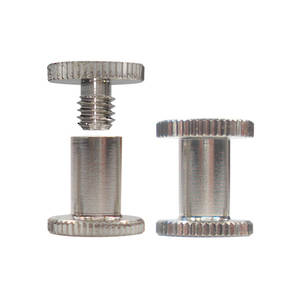 8mm long N P Knurled Interscrew
