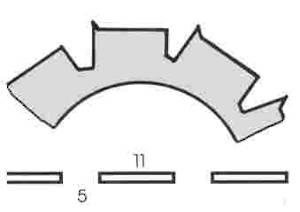 Stahl Burst Perforator 50.5 x 30.0 x 0.9mm 10T