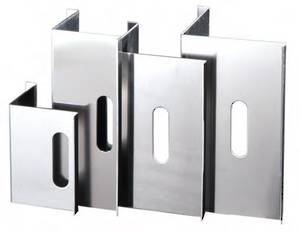 Aluminium Pile Corners 127 x 127mm