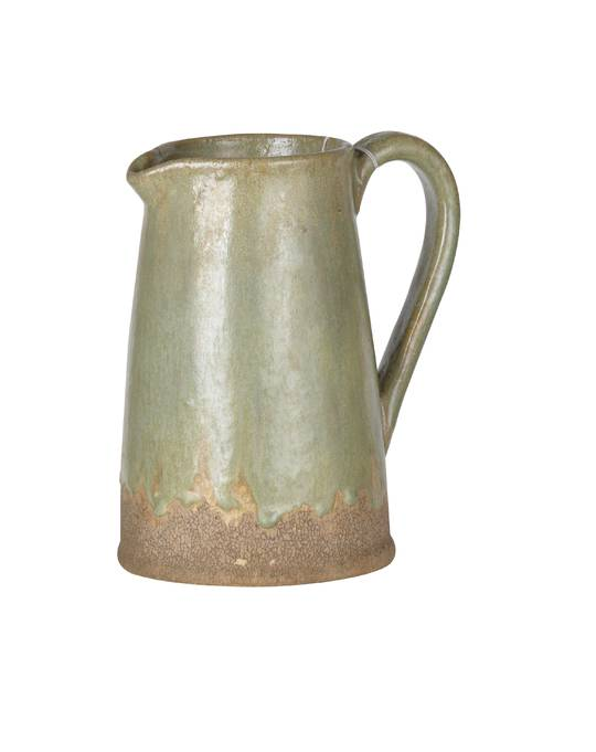 AGED LOOK PITCHER VASE